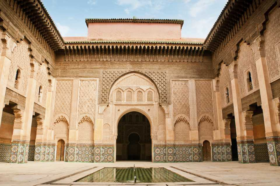 Courtyard in Marrakesh Museum